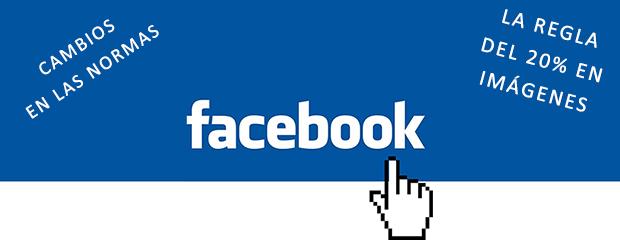 Cambio normas de Facebook: Menos de 20% de texto en imágenes