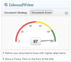 Inboundwriter, te ayuda a optimizar los contenidos de tu blog.