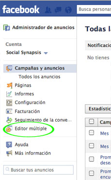 Como crear un publico personalizado con Facebook ads