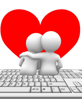 Las redes sociales más sociales: Love is in the Net.