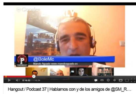 Hangout #SMpodcast con #SMrevolution