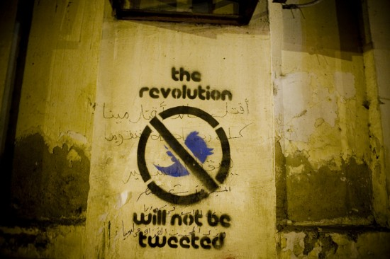 the revolution not tweeted