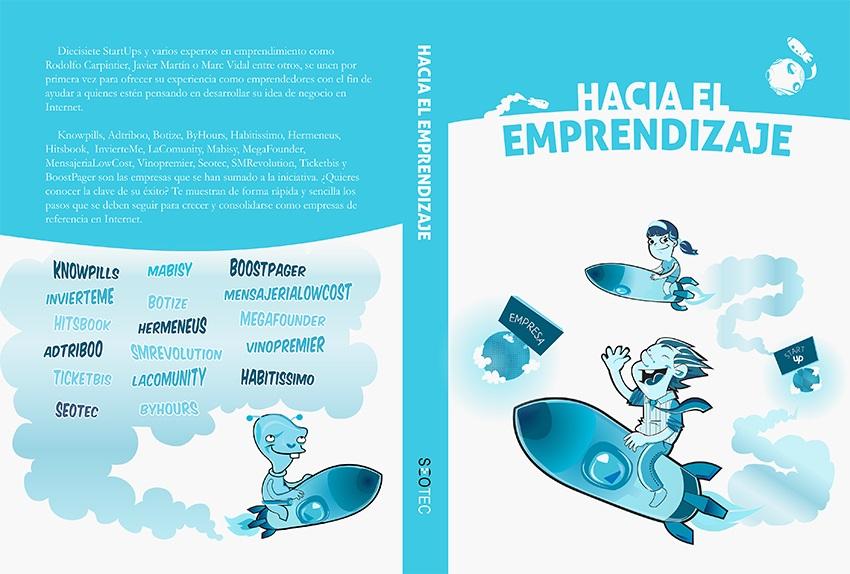 ¡Hacia el emprendizaje! ¡El primer libro en el que estamos presentes!
