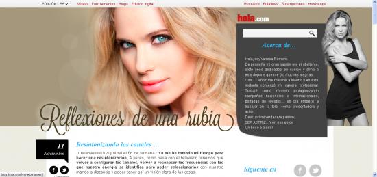 Blog Vanesa Romero
