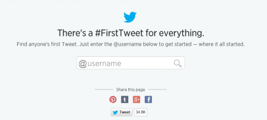 ¿Cuál fue mi primer Tweet?