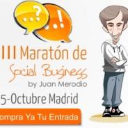 Revolucionando en el III Maratón de Social Business #MaratonSB